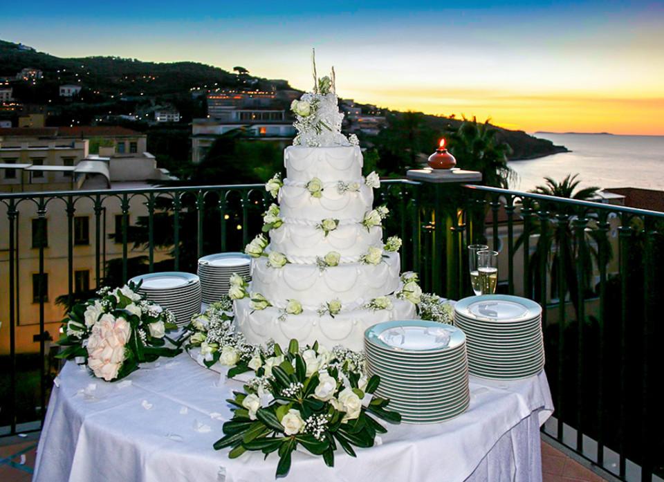 Le Torte Nuziali - Matrimoni a Sorrento Hotel la Favorita
